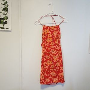 Charlotte Russe Mini Halter Dress